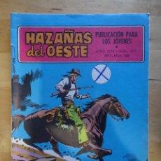 Tebeos: CÓMIC ANTIGUO HAZAÑAS DEL OESTE AÑO 1970 NÚM 211 VENIDO DEL ESTE EDICIONES TORAY, S.A. WESTERN. Lote 57508592