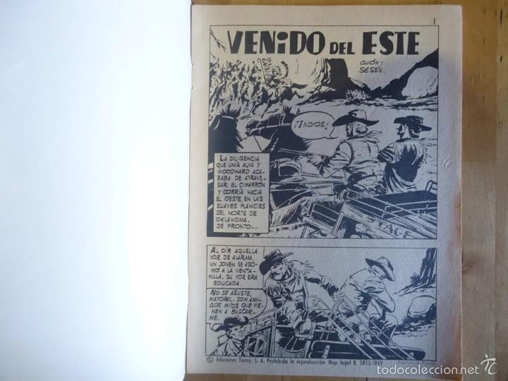 Tebeos: CÓMIC ANTIGUO HAZAÑAS DEL OESTE AÑO 1970 NÚM 211 VENIDO DEL ESTE EDICIONES TORAY, S.A. WESTERN - Foto 2 - 57508592