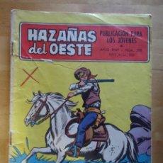 Tebeos: CÓMIC ANTIGUO HAZAÑAS DEL OESTE AÑO 1969 NÚM 200 PASO UN TEXAS RANGER EDICIONES TORAY, S.A. WESTERN. Lote 57508607