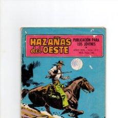 BDs: HAZAÑAS DEL OESTE Nº 211 * AÑO 1970 * TORAY. Lote 57677026