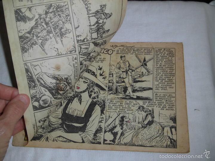 Tebeos: SILVIA Y EL FIEL KINGO COLECCION AZUCENA Nº 323 .-1958 - Foto 2 - 57684035