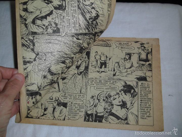 Tebeos: SILVIA Y EL FIEL KINGO COLECCION AZUCENA Nº 323 .-1958 - Foto 3 - 57684035