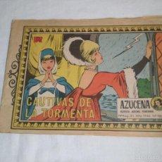 Tebeos: CAUTIVOS DE LA TORMENTA COLECCION AZUCENA Nº 932.-AÑO 1965. Lote 57684091