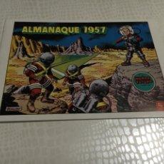 Tebeos: ALMANAQUE 1957 EL MUNDO FUTURO. Lote 57756976