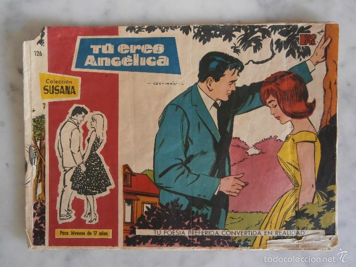 COLECCION SUSANA - TU ERES ANGELICA - Nº126 (Tebeos y Comics - Toray - Susana)