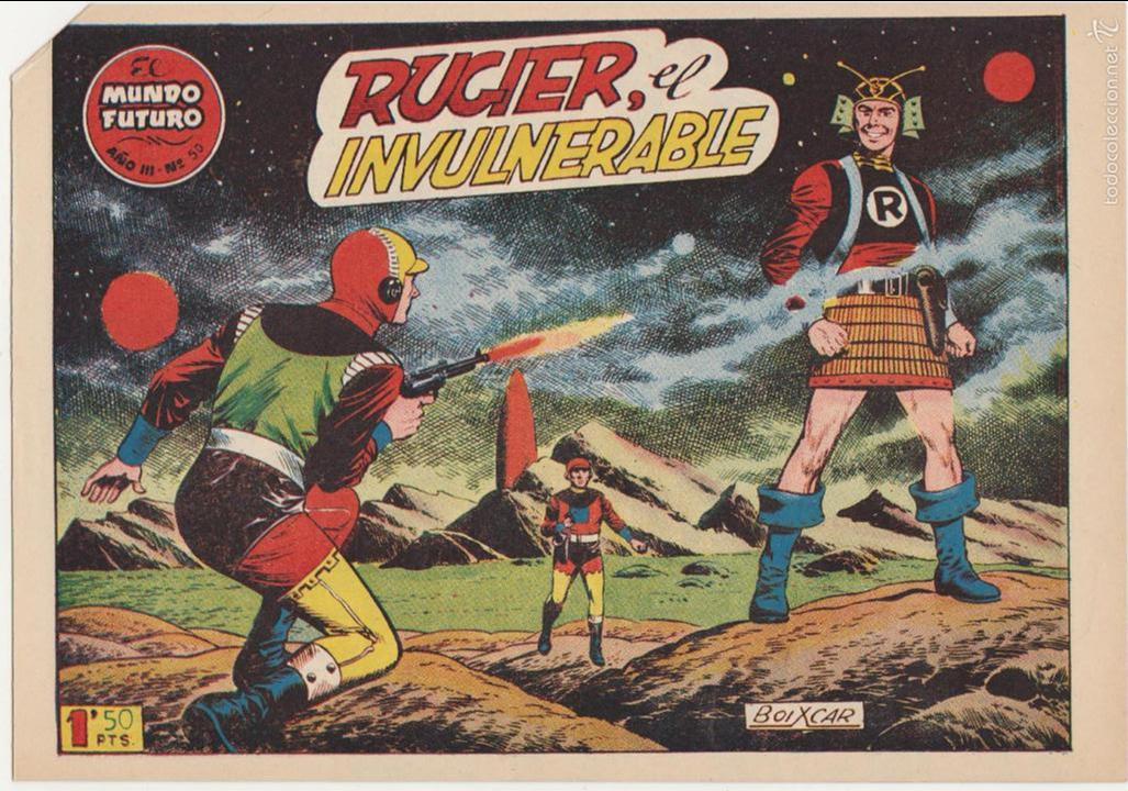 EL MUNDO FUTURO Nº 50. TORAY 1955. (Tebeos y Comics - Toray - Mundo Futuro)