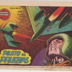 Tebeos: EL MUNDO FUTURO Nº 52. TORAY 1955.. Lote 57838377