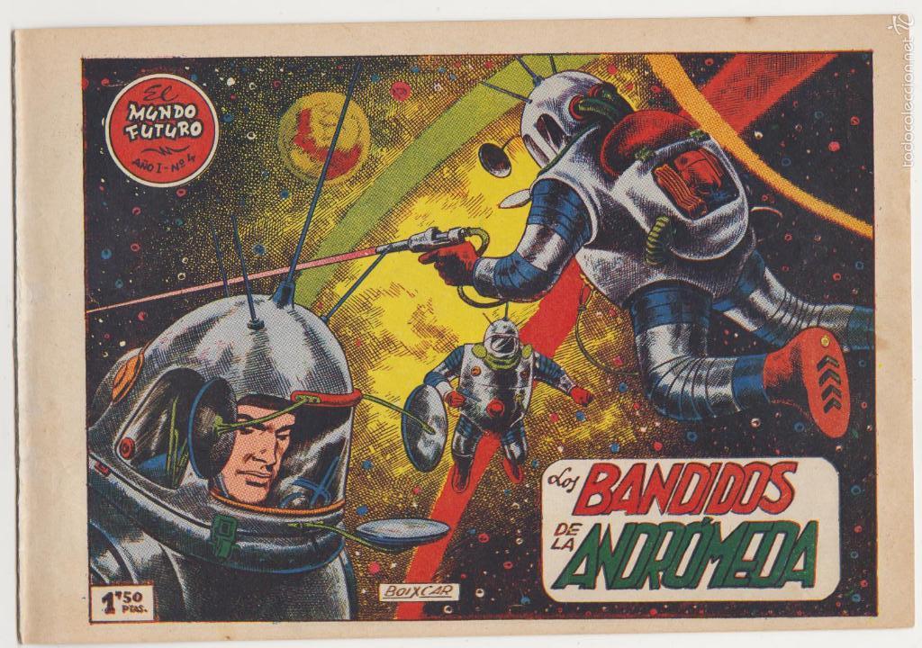 EL MUNDO FUTURO Nº 4. TORAY 1955. (Tebeos y Comics - Toray - Mundo Futuro)