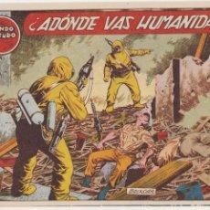 Tebeos: EL MUNDO FUTURO Nº 26. TORAY 1955. . Lote 57857320