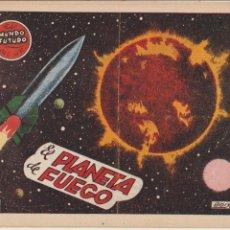 Tebeos: EL MUNDO FUTURO Nº 31. TORAY 1955. . Lote 57857461