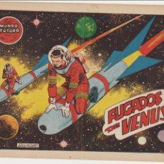 Tebeos: EL MUNDO FUTURO Nº 34. TORAY 1955. . Lote 57857513