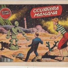 Tebeos: EL MUNDO FUTURO Nº 35. TORAY 1955. . Lote 57857564