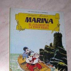 Tebeos: LES AVENTURES DE LA MARINA Nº 1. EL JURAMENT DE LA TORRE NEGRA. CORTEGGIANI, TRANCHAND. TORAY, 1986.. Lote 57926316