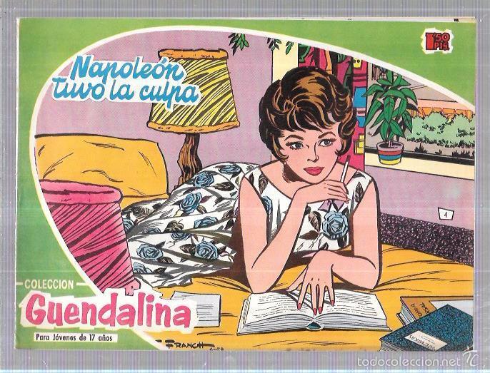 COLECCIÓN GUENDALINA. NAPOLEÓN TUVO LA CULPA. Nº4. REVERSO: MARLON BRANDO. (Tebeos y Comics - Toray - Guendalina)
