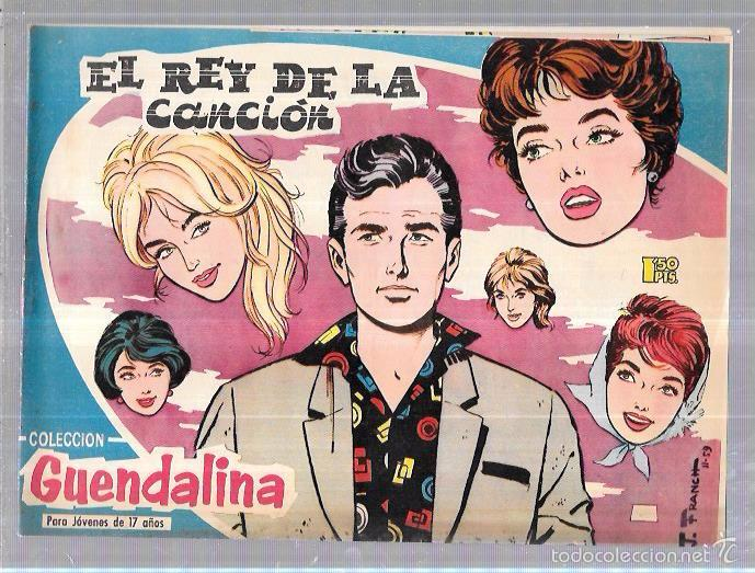 COLECCIÓN GUENDALINA. EL REY DE LA CANCIÓN Nº26. REVERSO: PHIL CAREY. (Tebeos y Comics - Toray - Guendalina)
