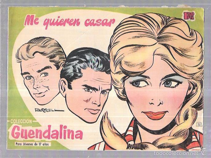 COLECCIÓN GUENDALINA. ME QUIERE CASAR. Nº15. REVERSO: SHIRLEY MCLAINE. (Tebeos y Comics - Toray - Guendalina)