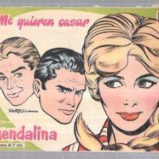 Tebeos: COLECCIÓN GUENDALINA. ME QUIERE CASAR. Nº15. REVERSO: SHIRLEY MCLAINE.. Lote 58005910
