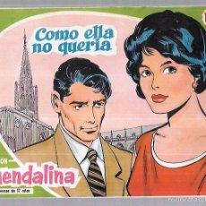 Tebeos: COLECCIÓN GUENDALINA. COMO ELLA NO QUERIA. Nº8. REVERSO: DAVID NIVEN.. Lote 58005972