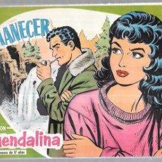 Tebeos: COLECCIÓN GUENDALINA. AMANECER. Nº7. REVERSO: ALAN LADD.. Lote 58006051