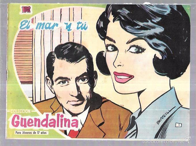 COLECCIÓN GUENDALINA. EL MAR Y TÚ. Nº5. REVERSO: KIRK DOUGLAS. (Tebeos y Comics - Toray - Guendalina)
