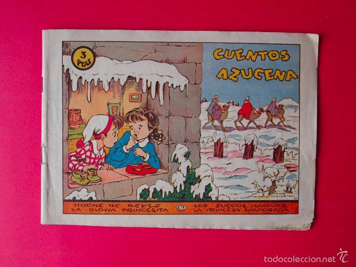 CUENTOS AZUCENA - COLECCIÓN AZUCENA Nº 0 - RECOPILA 4 CUENTOS - EDICIONES TORAY 1948 - ROSA GALCERÁN (Tebeos y Comics - Toray - Azucena)