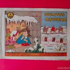 Tebeos - CUENTOS AZUCENA - COLECCIÓN AZUCENA Nº 0 - RECOPILA 4 CUENTOS - EDICIONES TORAY 1948 - Rosa Galcerán - 58006309