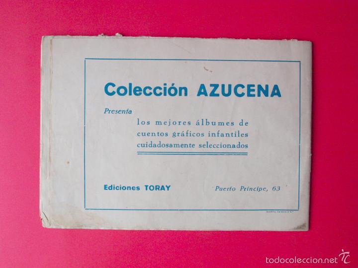 Tebeos: CUENTOS AZUCENA - COLECCIÓN AZUCENA Nº 0 - RECOPILA 4 CUENTOS - EDICIONES TORAY 1948 - Rosa Galcerán - Foto 4 - 58006309