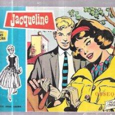 Tebeos: COLECCIÓN ROSAS BLANCAS. JACQUELINE. 1958.. Lote 58065123