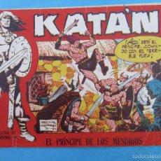 Tebeos: KATAN , NUMERO 35 EL PRINCIPE DE LOS MENDIGOS , ORIGINAL - TORAY 1958. Lote 58392686
