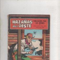 Tebeos: HAZAÑAS DEL OESTE Nº 208 TORAY.DA. Lote 58437649