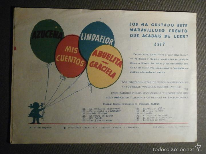 Tebeos: COMIC - COLECCION ALICIA - LECCIONES DE CANTO - AÑO III - Nº 132 - ORIGINAL - - Foto 2 - 58594788