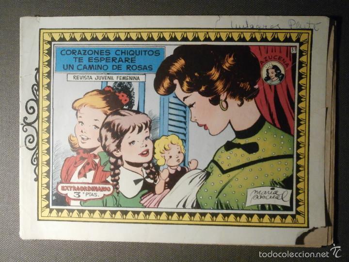TEBEO - COMIC - COLECCION AZUCENA - CORAZONES CHIQUITOS Nº 51 - EXTRAORDINARIO (Tebeos y Comics - Toray - Azucena)