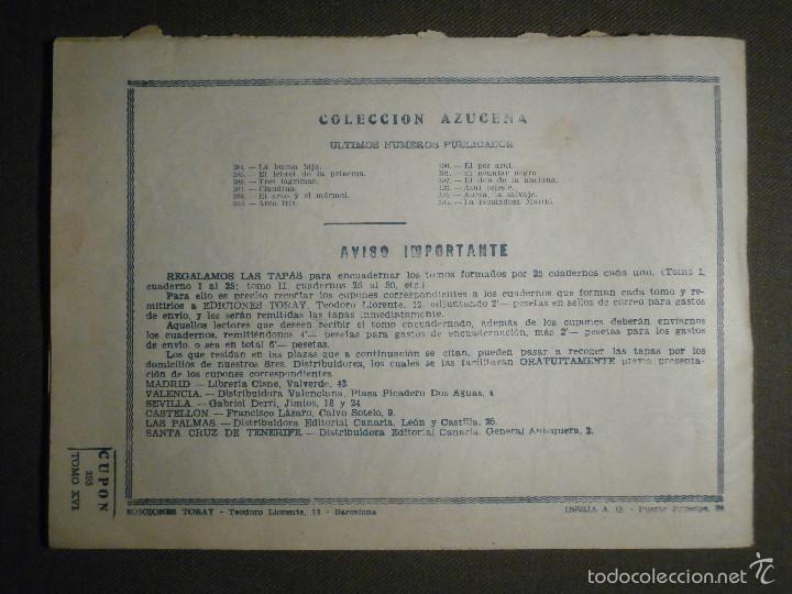 Tebeos: TEBEO - COMIC - COLECCION AZUCENA - LA BONDADOSA MARILÓ - TORAY - Nº 395 - Foto 2 - 58598730