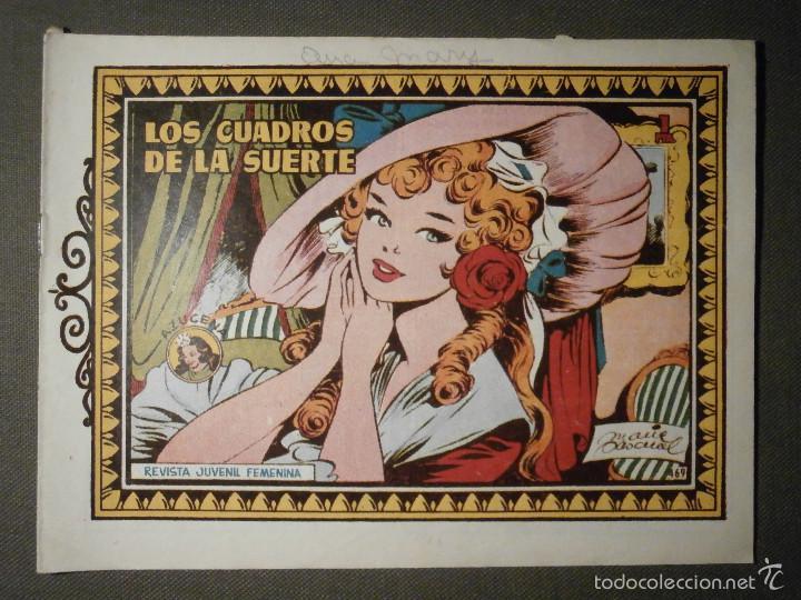 TEBEO - COMIC - COLECCION AZUCENA - LOS CUADROS DE LA SUERTE - TORAY - Nº 469 (Tebeos y Comics - Toray - Azucena)