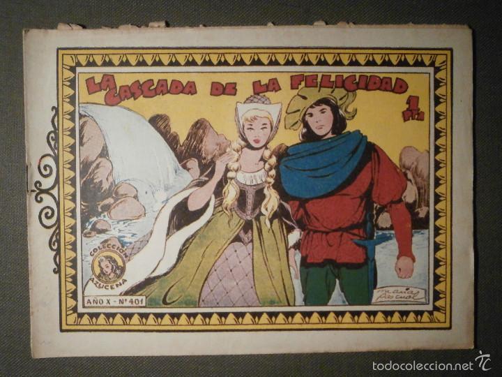 TEBEO - COMIC - COLECCION AZUCENA - LA CASCADA DE LA FELICIDAD - TORAY - Nº 401 (Tebeos y Comics - Toray - Azucena)