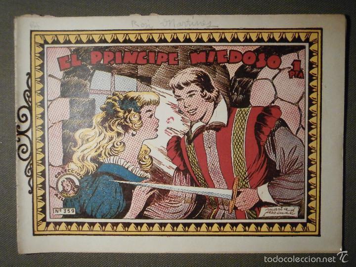 TEBEO - COMIC - COLECCION AZUCENA - EL PRINCIPE MIEDOSO - TORAY - Nº 359 (Tebeos y Comics - Toray - Azucena)