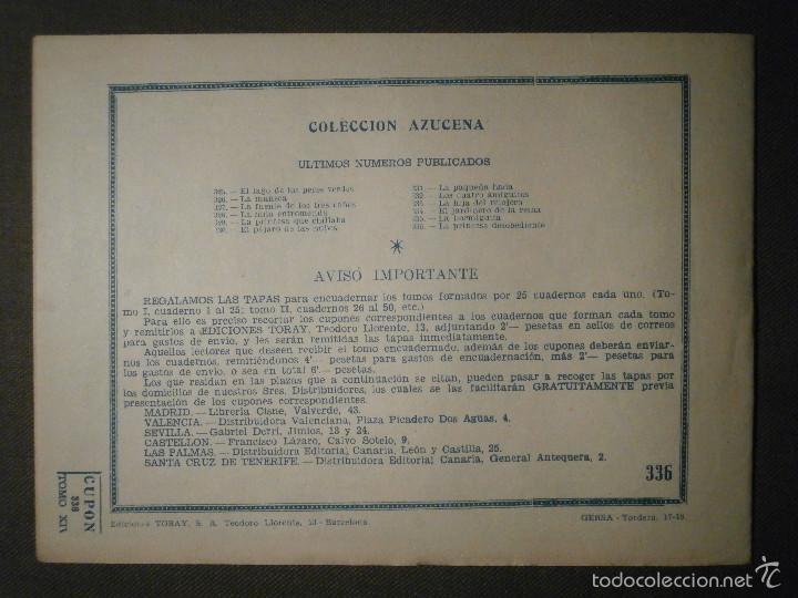 Tebeos: TEBEO - COMIC - COLECCION AZUCENA - LAS PRINCESAS DESOBEDIENTES - TORAY - Nº 336 - Foto 2 - 58600736