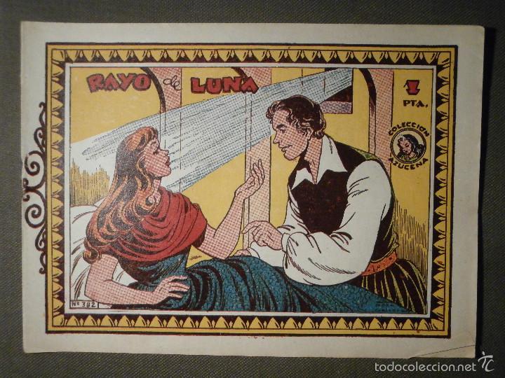 TEBEO - COMIC - COLECCION AZUCENA - RAYO DE LUNA - TORAY - Nº 382 (Tebeos y Comics - Toray - Azucena)