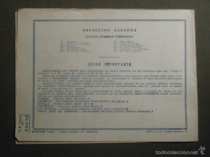 Tebeos: TEBEO - COMIC - COLECCION AZUCENA - LA DAMA ORGULLOSA - TORAY - Nº 398 - Foto 2 - 58644723