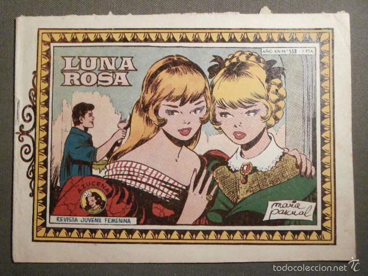TEBEO - COMIC - COLECCION AZUCENA - LUNA ROSA - TORAY - AÑO XIV Nº 558 (Tebeos y Comics - Toray - Azucena)