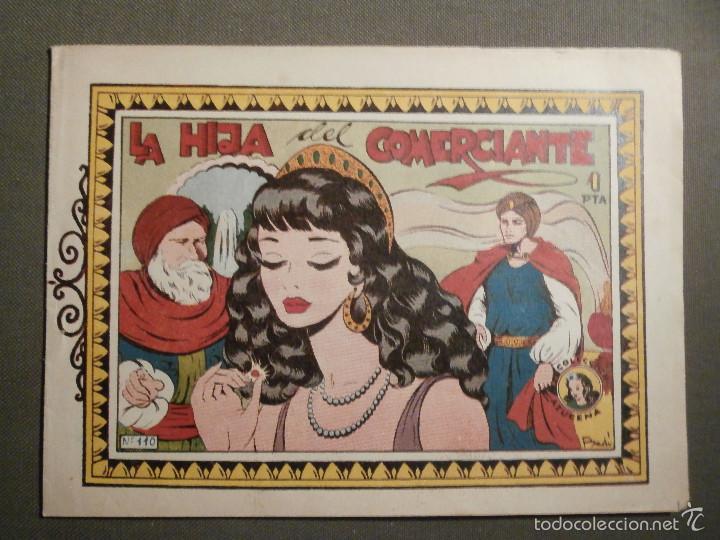 TEBEO - COMIC - COLECCION AZUCENA - LA HIJA DEL COMERCIANTE - TORAY - Nº 110 (Tebeos y Comics - Toray - Azucena)