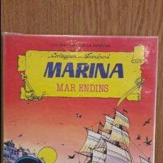 Tebeos: LES AVENTURES DE LA MARINA. MAR ENDINS. CORTEGGIANI / FRANCHAND. ED / TORAY - 1987 / FORRADO.. Lote 58822126