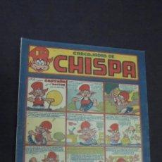 BDs: CHISPA - Nº 4 - FILOMENO CASTAÑA Y EL DOCTOR - EDICIONES TORAY - AÑOS 40 - IRANZO. Lote 59131340