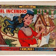Tebeos: COLECCIÓN GRACIELA. EL INCENDIO. Nº 73. EDICIÓN TORAY. Lote 59459450