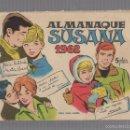 Tebeos: ALMANAQUE SUSANA. 1962. REVISTA JUVENIL FEMENINA. Lote 59813224