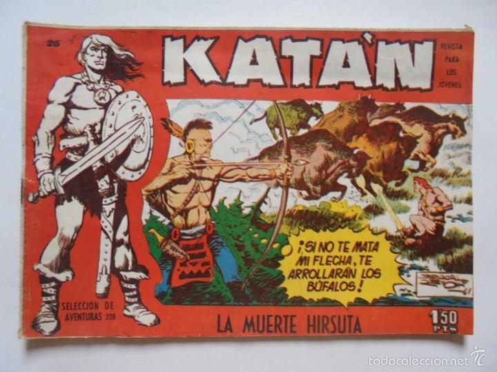 KATAN Nº 25 - LA MUERTE HIRSUTA - ORIGINAL - TORAY - JMV (Tebeos y Comics - Toray - Katan)