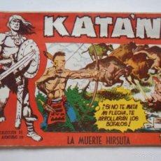 Tebeos - Katan Nº 25 - La muerte hirsuta - Original - Toray - JMV - 60066351