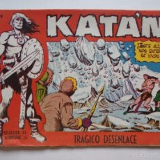 Tebeos: KATAN Nº 31 - TRÁGICO DESENLACE - ORIGINAL - TORAY. Lote 109367311
