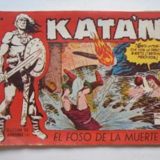 Tebeos: KATAN Nº 38 - EL FOSO DE LA MUERTE - ORIGINAL - TORAY. Lote 60066547