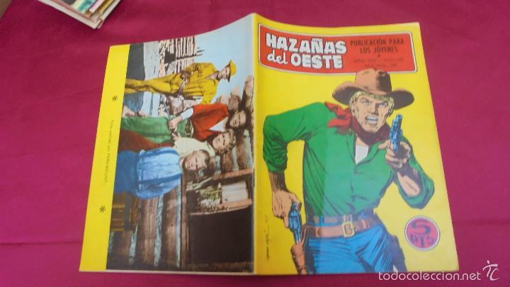 HAZAÑAS DEL OESTE. Nº 146. EDICIONES TORAY. (Tebeos y Comics - Toray - Hazañas del Oeste)